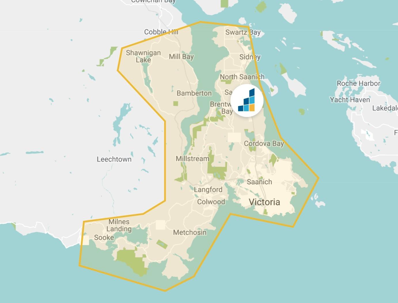 Victoria's Location Map