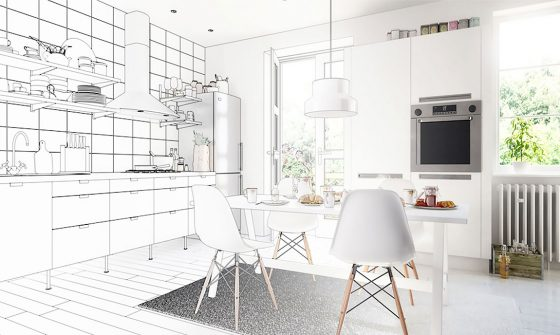 Kitchen Renovation drawing
