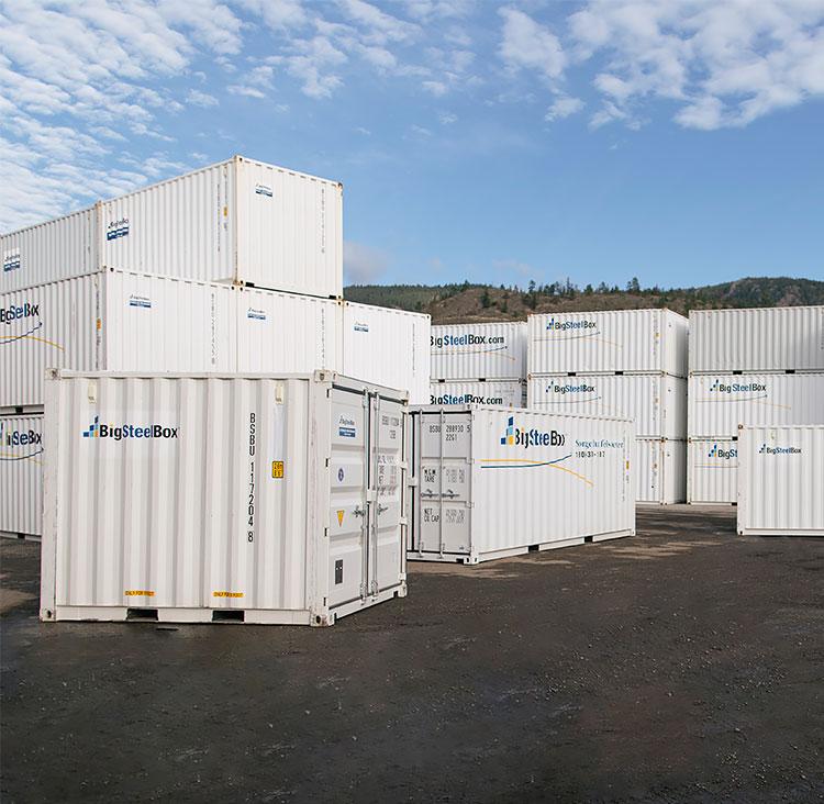 BigSteelBox storage yard