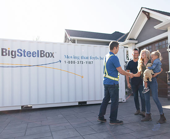 Corporate relocation and business moving - BigSteelBox
