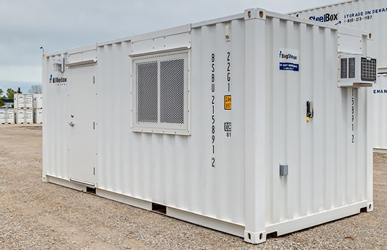 BigSteelBox 20-foot shipping container site office