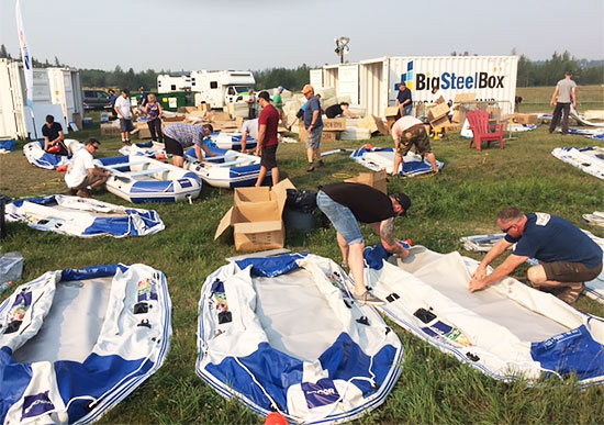BigSteelBox storage for EPCOR Riverfest