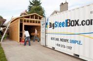 Storage during home renovations - BigSteelBox