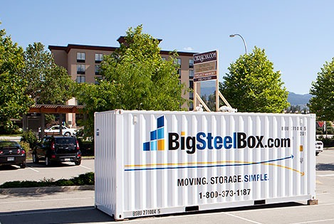commercial renovation storage - BigSteelBox