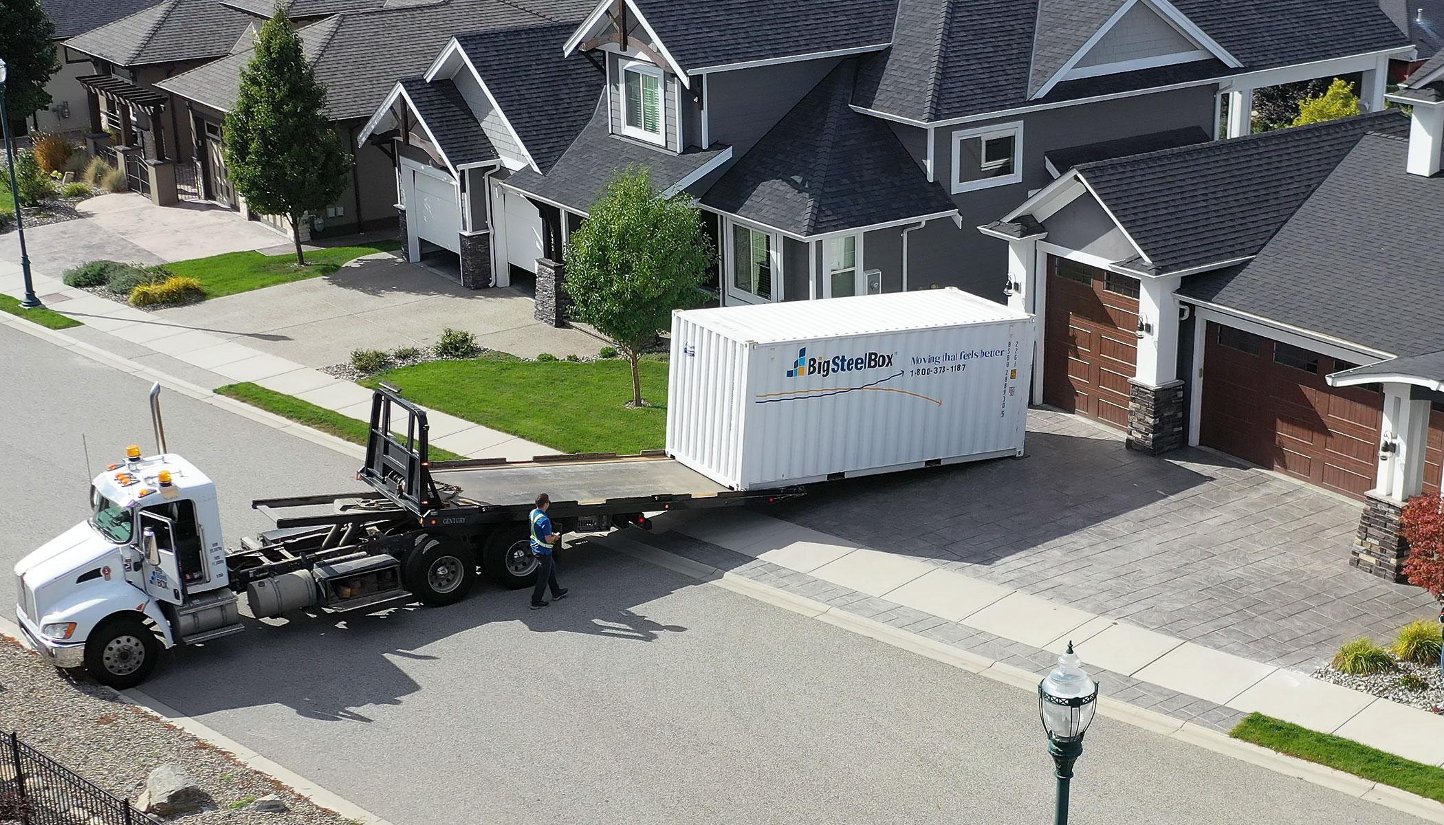 How we deliver a BigSteelBox
