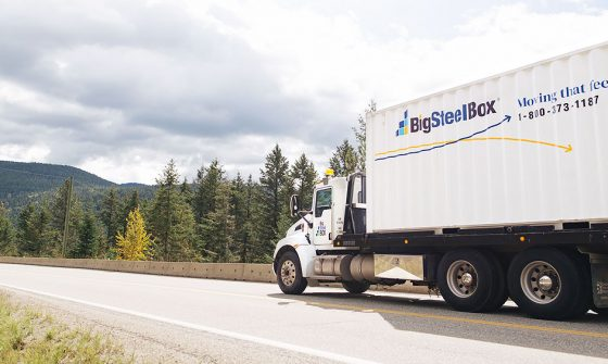 Long distance moving company in Canada - BigSteelBox