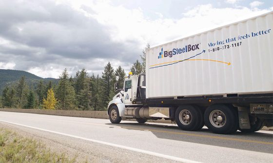 Long Distance Moving Companies Canada - BigSteelBox