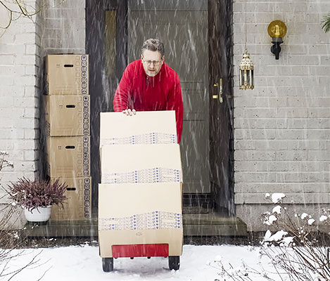 Top 10 tips for moving in winter