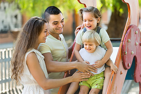 When moving with children, visit your new neighbourhood before you move in