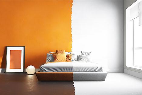 Home renovation change paint