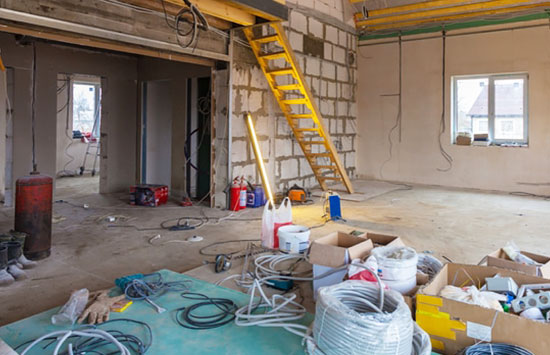 Portable storage for restoration companies