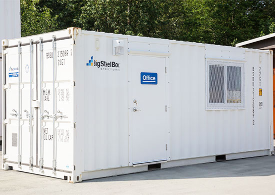 20' Shipping Container Office - BigSteelBox