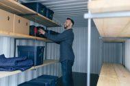 Add shelving to keep your BigSteelBox organized