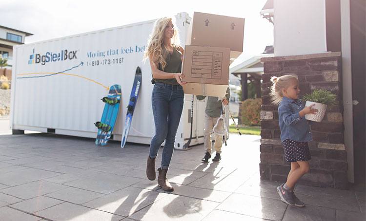 Unpacking tips for moving - BigSteelBox