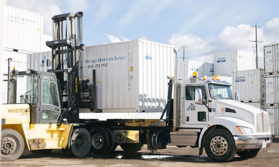 Shipping container safety tips