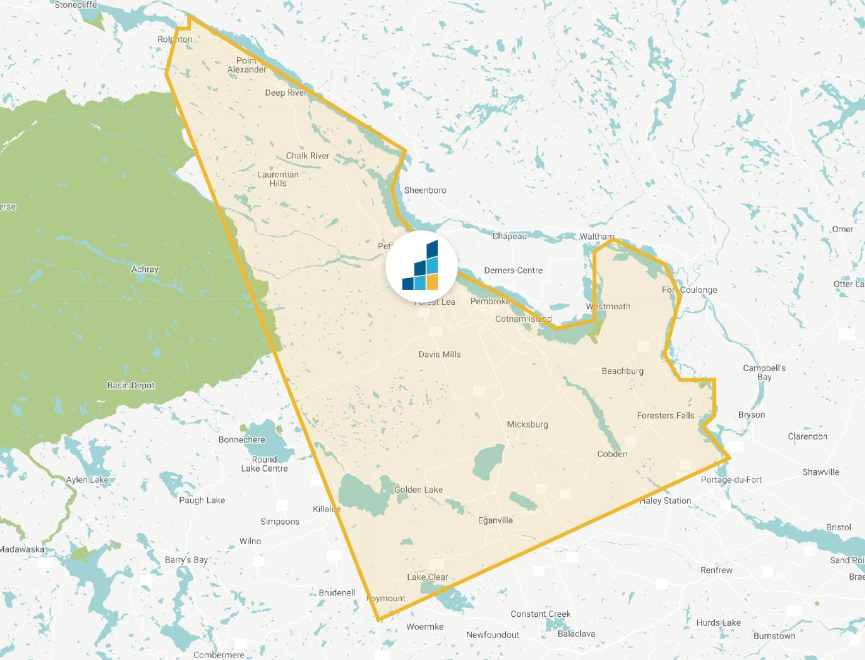 Petawawa's Location Map