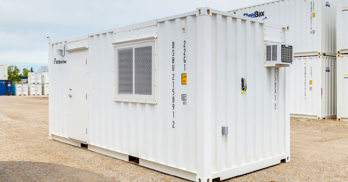 BigSteelBox Shipping Container Office
