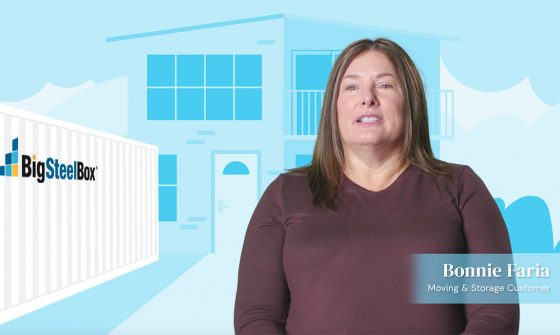 BigSteelBox moving customer testimonial video