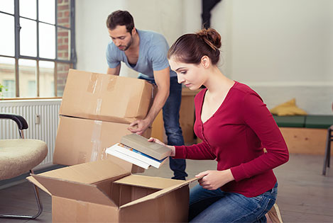 Packing your own items is best when moving during COVID-19