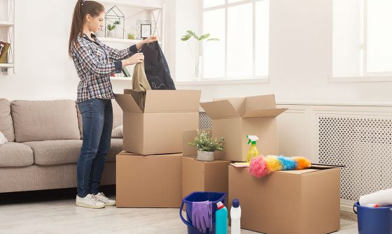 Tips for Cleaning and Sanitizing During a Move - BigSteelBox