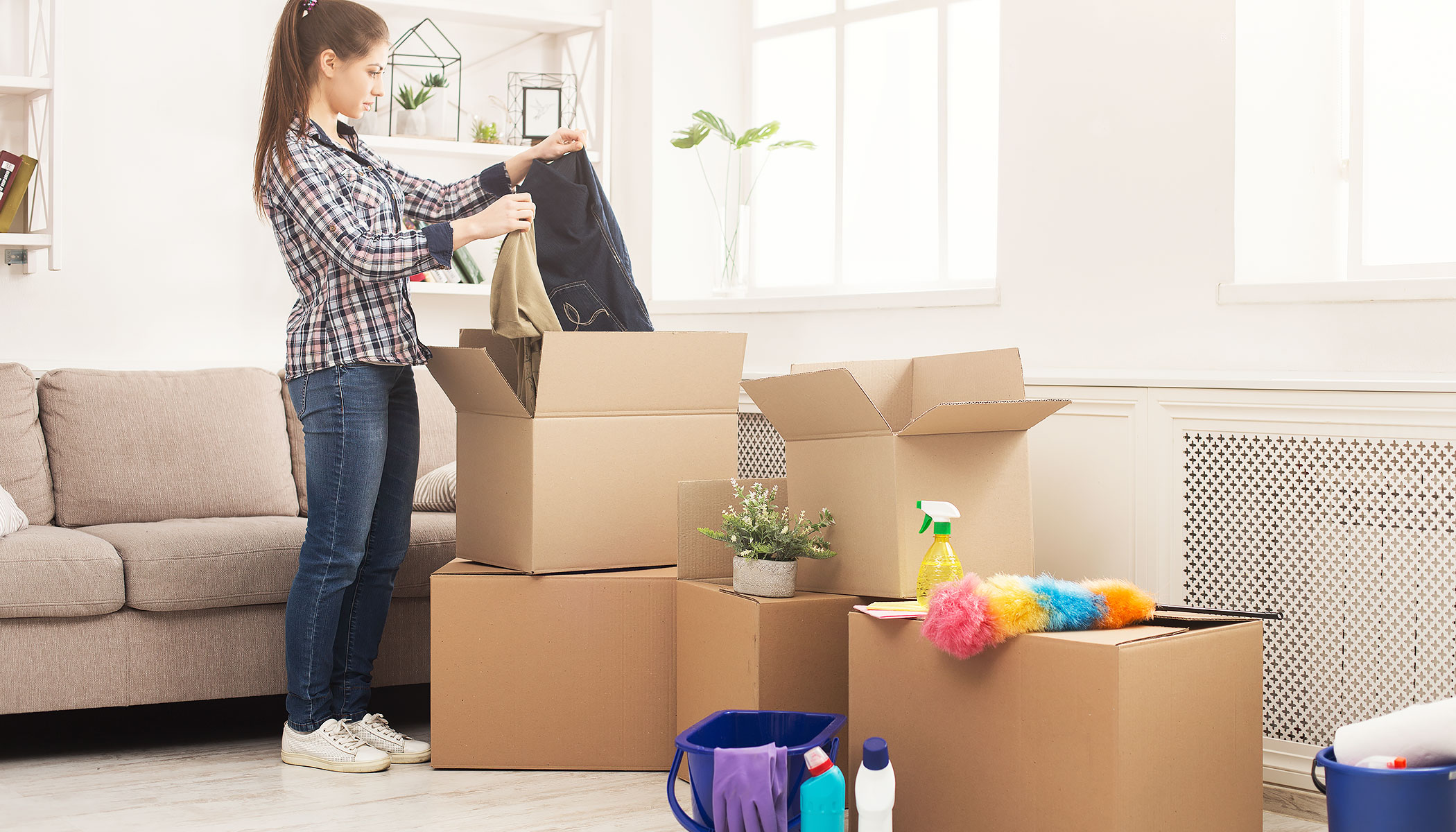 Tips for Cleaning and Sanitizing During a Move - COVID-19