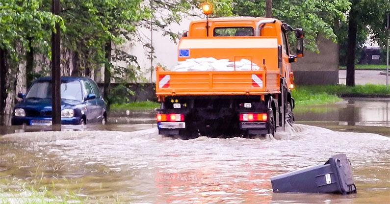 Restoration project due to flooding - BigSteelBox