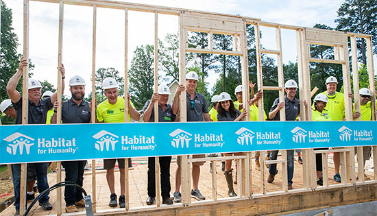 Habitat for Humanity Canada Build Site - BigSteelBox