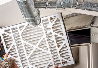 How to improve indoor air quality: change furnace air filter