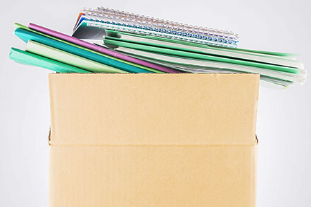 How to move sensitive documents when moving