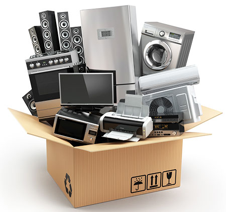 How to pack electronics for moving