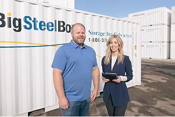 BigSteelBox storage consultants