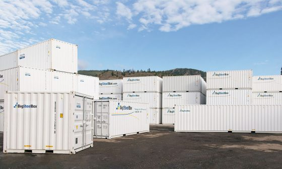Self Storage options- shipping containers - BigSteelBox