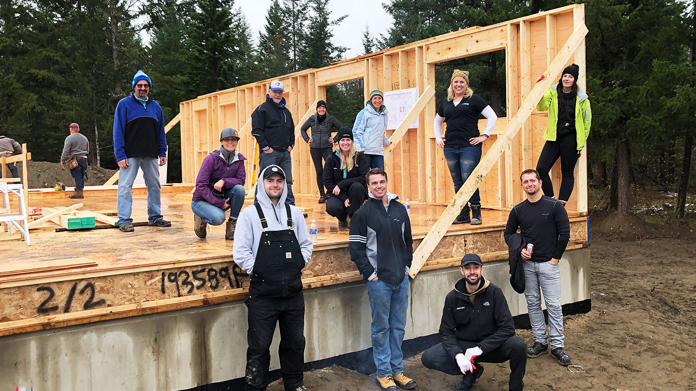 Habitat for Humanity and BigSteelBox Partnership