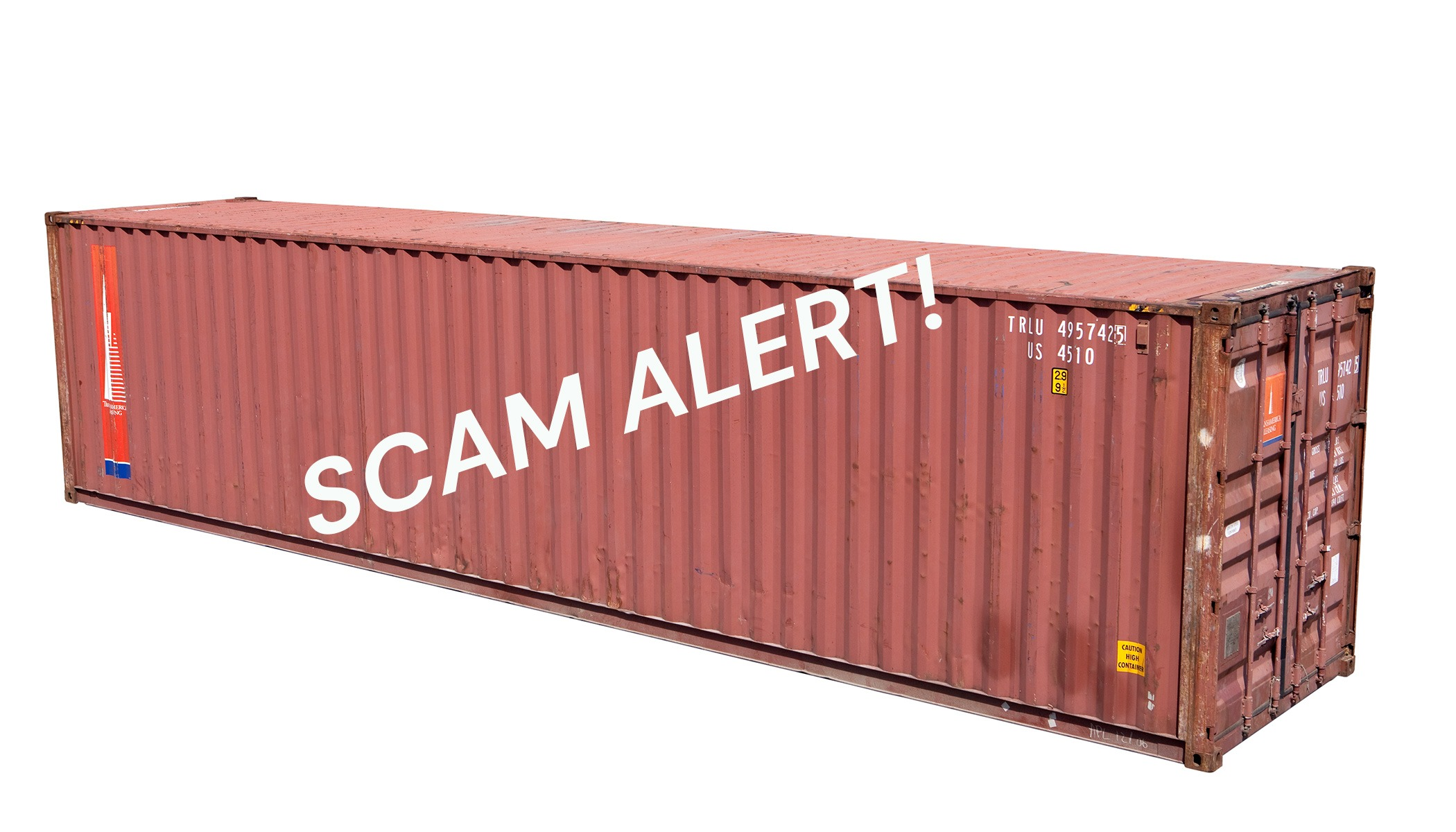 Shipping Container Sales: How to Spot a Scam