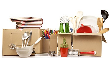 Tips for packing kitchen items - BigSteelBox