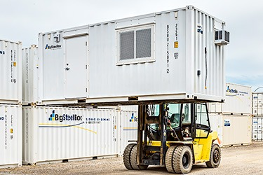 BigSteelBox shipping container offices are easy to move.