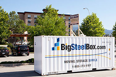 Renovation storage for hotels and motels - BigSteelBox