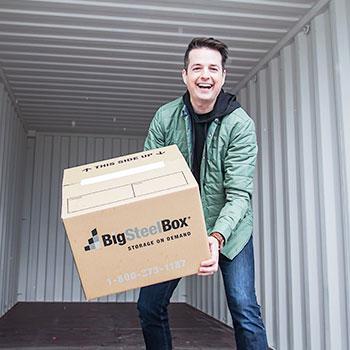 Todd Talbot, BigSteelBox Moving & Storage Customer