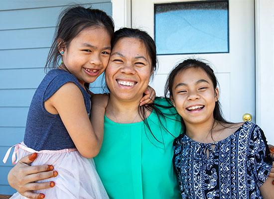Habitat for Humanity Canada Family - BigSteelBox Fundraising Partnership