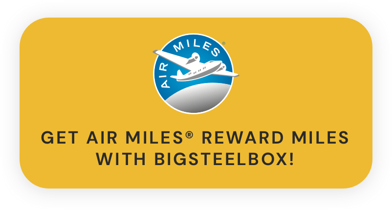 Get AIR MILES® Reward Miles when you move and store with BigSteelBox
