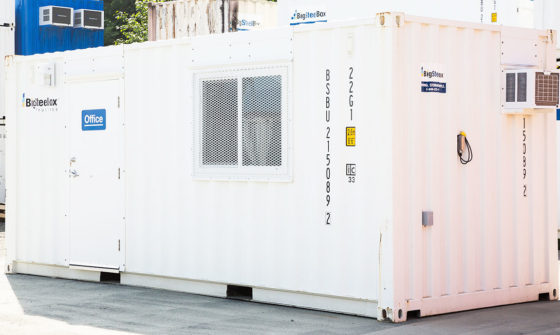 20-foot shipping container office - BigSteelBox
