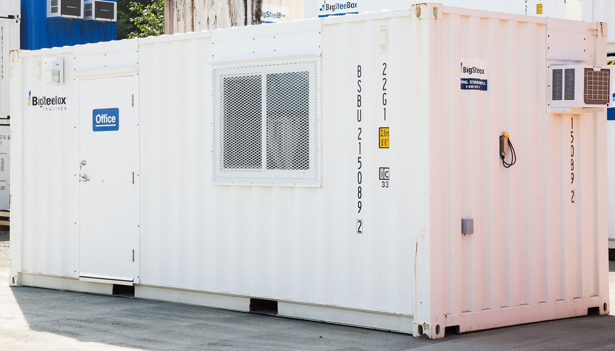 Shipping container office - BigSteelBox