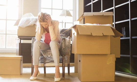 Tips for coping with moving stress - BigSteelBox