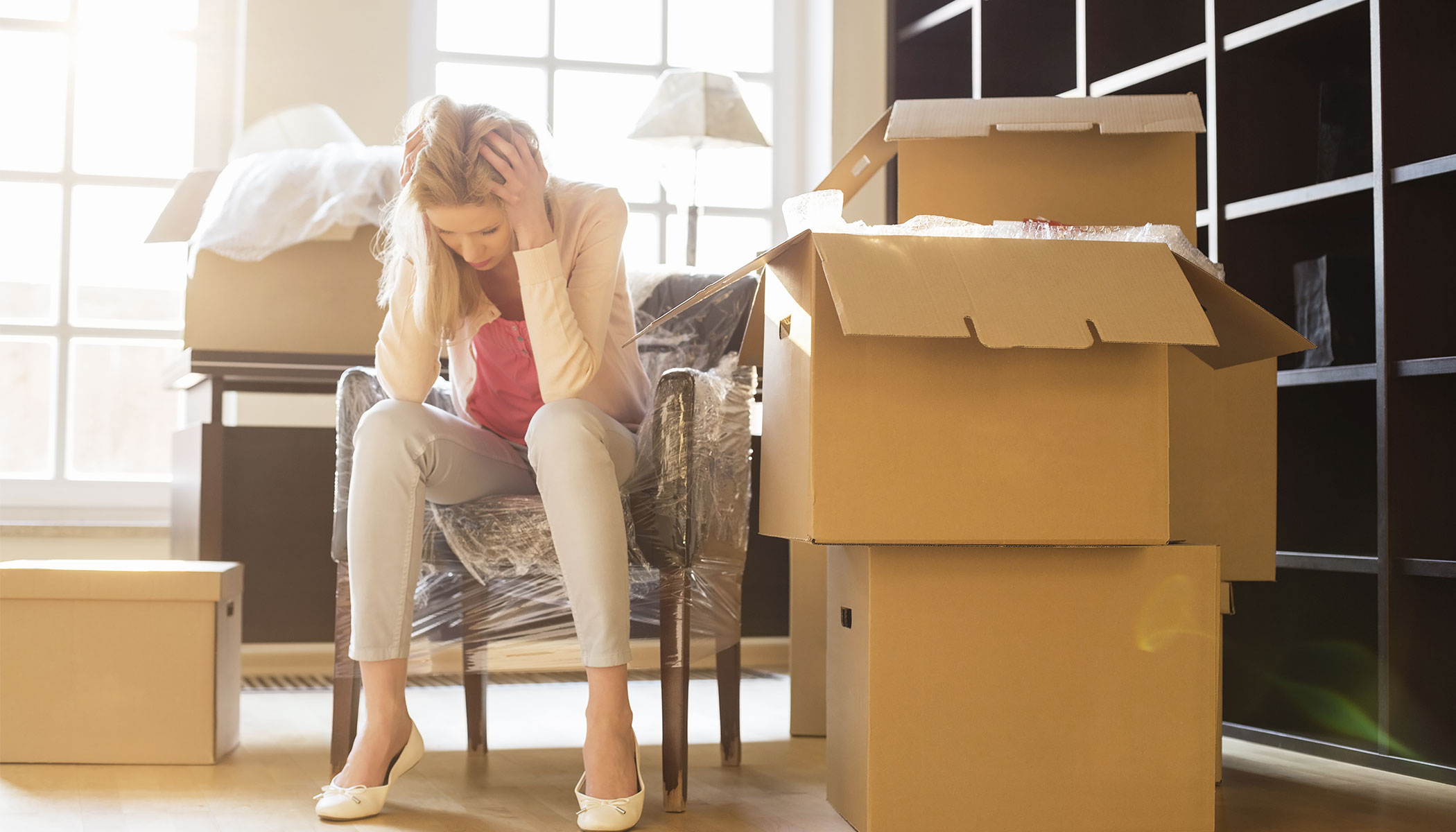 How to cope with the stress of moving - BigSteelBox