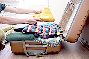 Moving Tip - use your luggage when packing