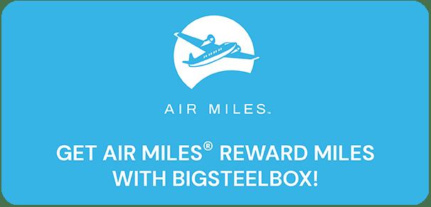 Get AIR MILES® Reward Miles from BigSteelBox